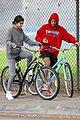 justin bieber selena gomez bike ride together 50