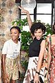 camila mendes and katherine langford are black and white beauties at w mags it girls luncheon 24