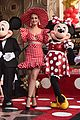 minnie mouse walk fame ceremony katy perry mickey mouse 10