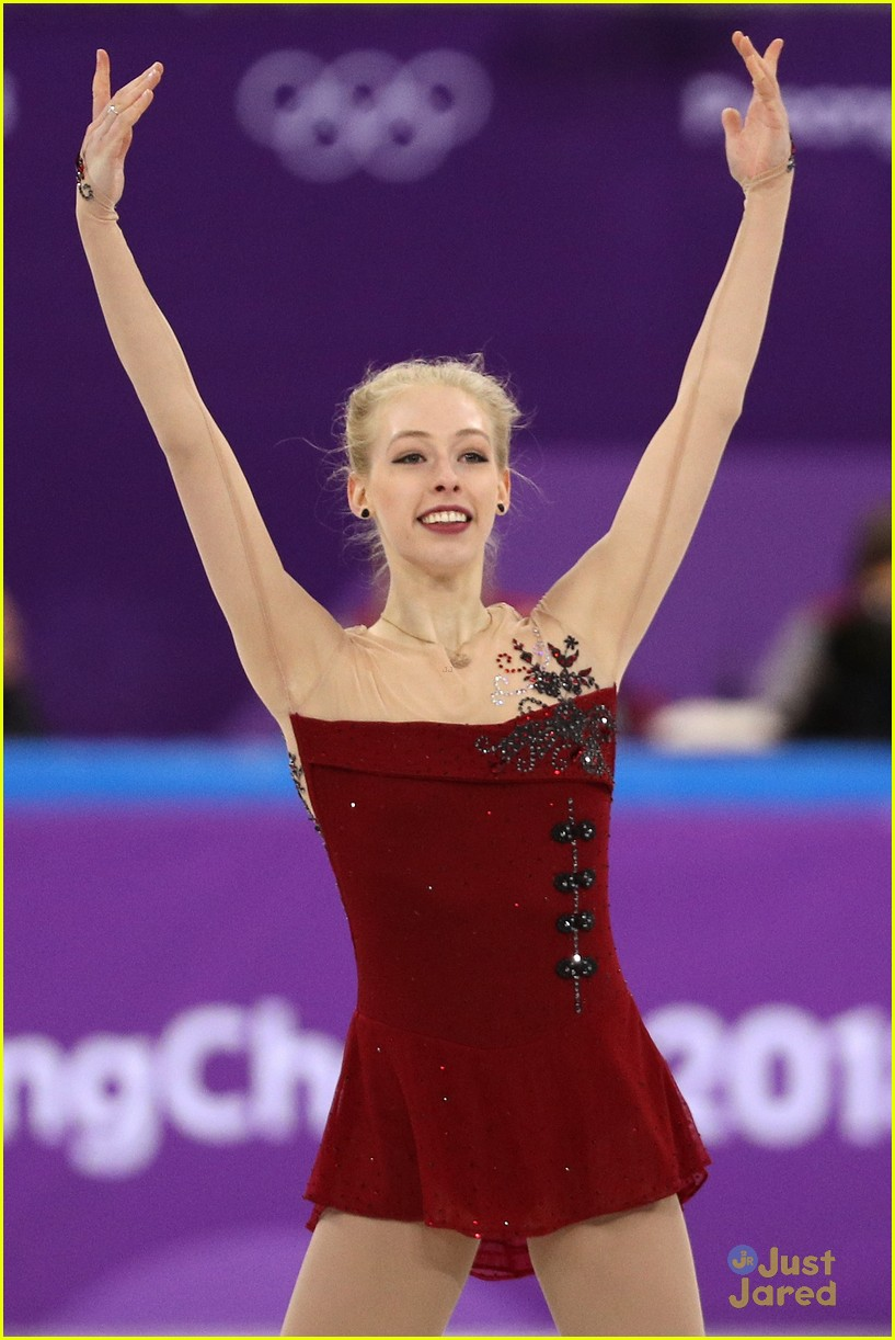 bradie tennell olympic debut again tonight 05