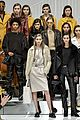 gigi and bella hadid rock leather in tods milan fashion week show 35