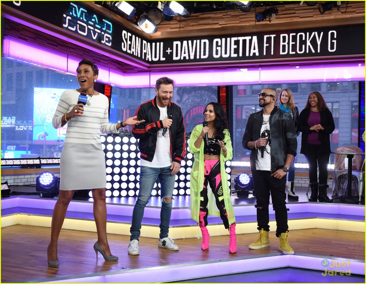 becky g sean paul gma performance pics 08
