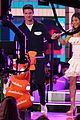patrick schwarzenegger and kat graham hit the kids choice awards orange carpet 37