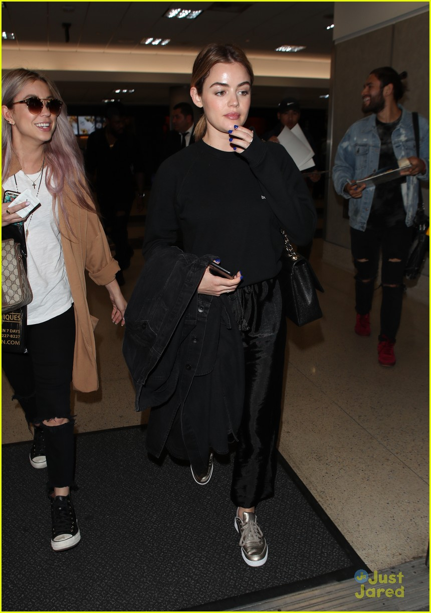 lucy hale lax arrival pressure life sentence 05