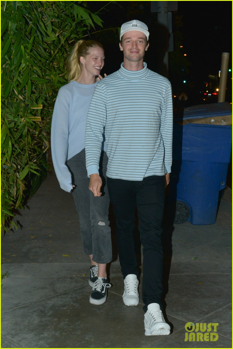 patrick schwarzenegger and girlfriend abby champion enjoy date night at craigs 10