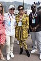 tom brady bella hadid represent tag heur at formula one grand prix 10