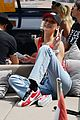 tom brady bella hadid represent tag heur at formula one grand prix 16