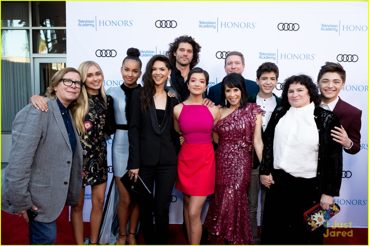 andi mack cast tv academy honors red carpet 33