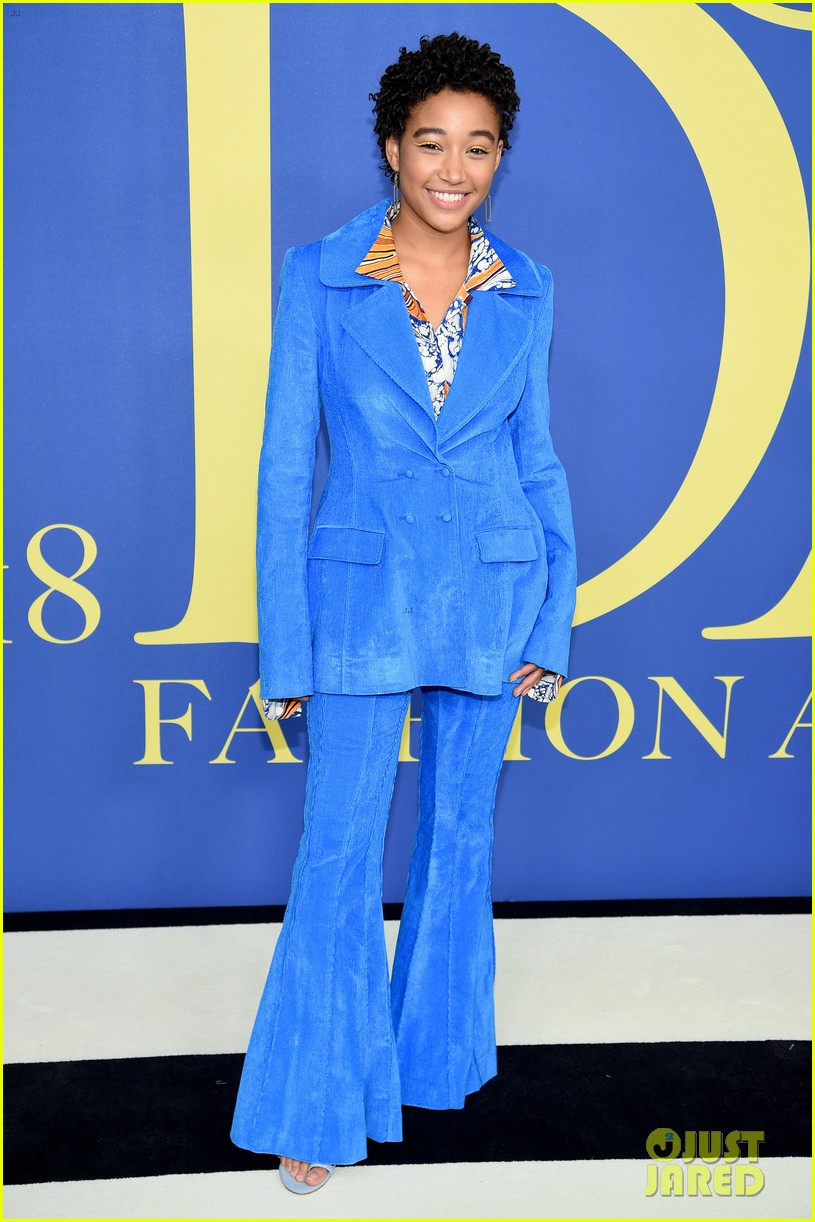 nina dobrev and laura harrier show off their styles at cfda awards 2018 03