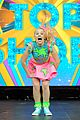jojo siwa performs at nick slimefest 07