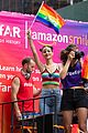 victoria justice shows her colors at nyc pride parade 2018 10