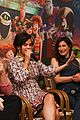 selena gomez ht3 press conference laughs 06