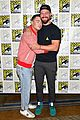 stephen amell arrow costars debut season 7 first look at comic con 02