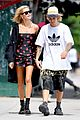 justin bieber and hailey baldwin cant stop smiling during nyc stroll 05