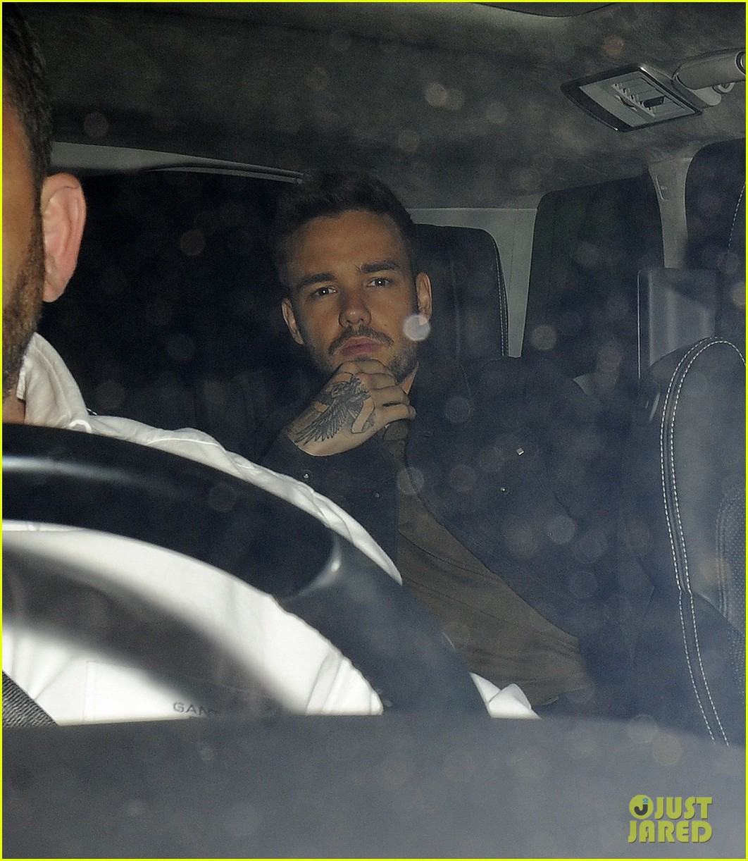 liam payne parties with drake at scorpion album launch party 03