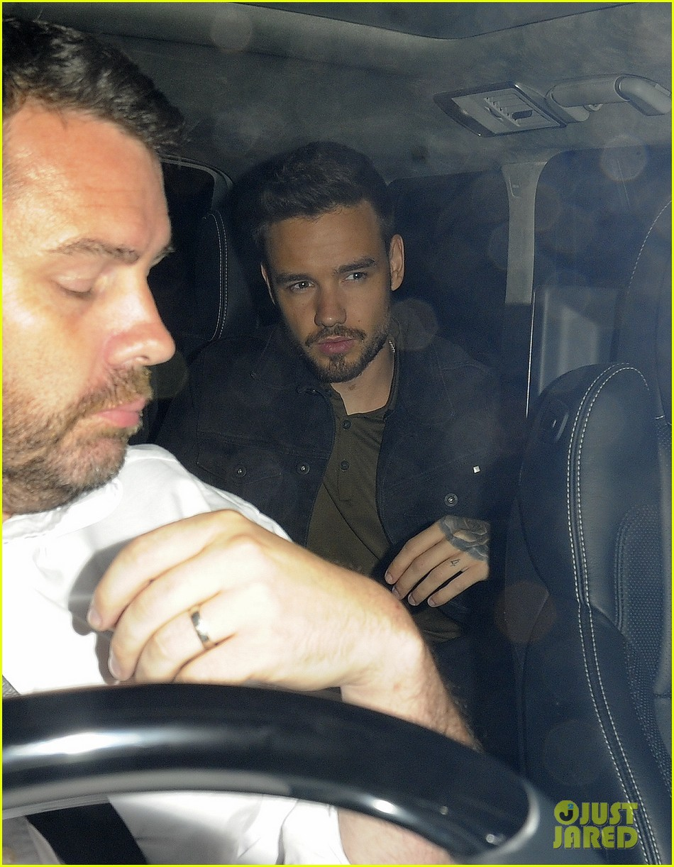 liam payne parties with drake at scorpion album launch party 05