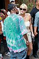 kylie jenner gives travis scott a kiss goodbye in nyc 07