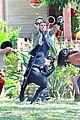 gregg sulkin uses his superpower gloves on runaways set 21