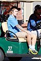justin bieber spends the afternoon on the golf course 05
