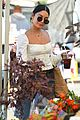 vanessa hudgens dons halloween inspired outfit ahead of farmers market trip15