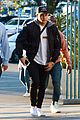 nick jonas arrives to check out dodgers game in los angeles05