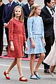 princess leonor right father military parade spain 05
