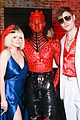 ariel winter levi meaden just jared halloween party 10