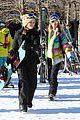sofia richie paris hilton hit the aspen slopes together 03
