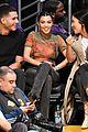 kendall jenner kourtney kardashian support ben simmons basketball game 03