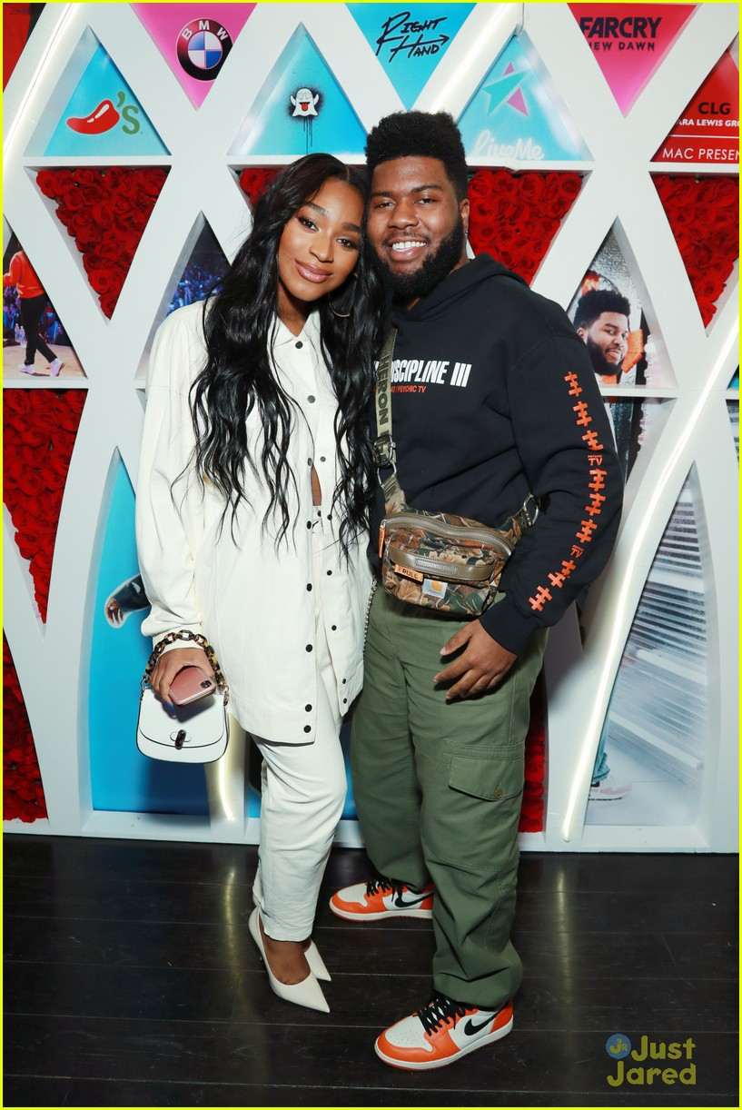 normani khalid birthday party love lies record 09