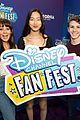 bizaardvark cast disney channel fan fest 01