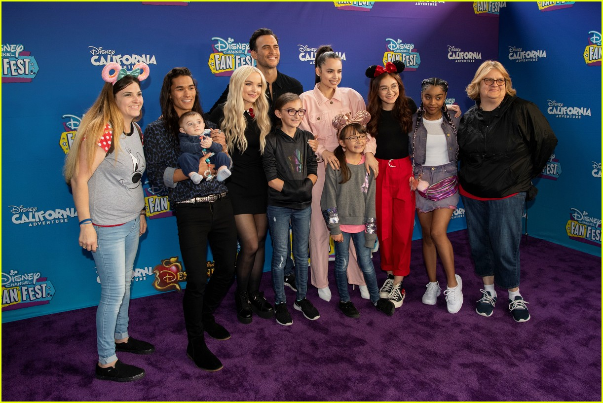 Full Sized Photo of dove cameron and sofia carson join