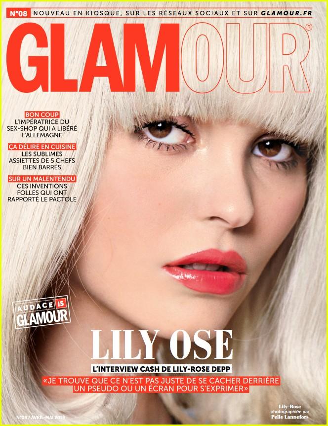lily rose depp glamour paris cover 01