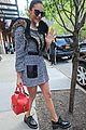 nina dobrev keeps it fierce in trendy animal print dress 04