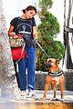 isabela moner walks dog weho 05