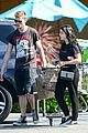 levi meaden ariel winter couple up for grocery store run 03
