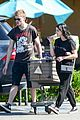 levi meaden ariel winter couple up for grocery store run 05