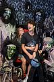 brett dier haley lu richardson check out knotts scary farm 01