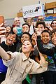 zendaya helps donate school supplies to 450 oakland students 01