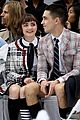 maisie williams reuben selby take fans behind scenes paris fashion week 03