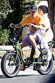 justin hailey bieber go for bike ride before hitting up dance studio 06