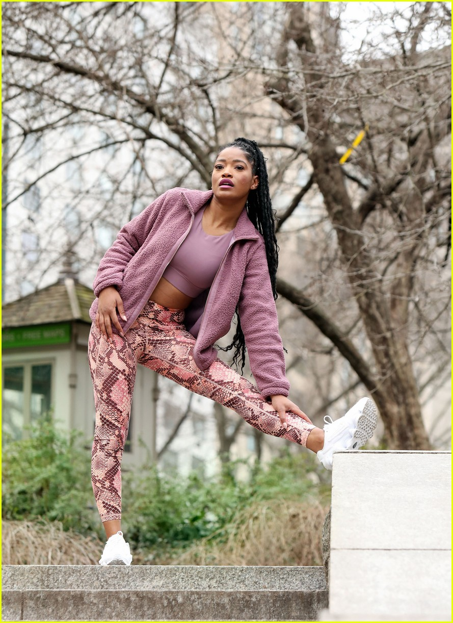 keke palmer works on fitness in nyc 02