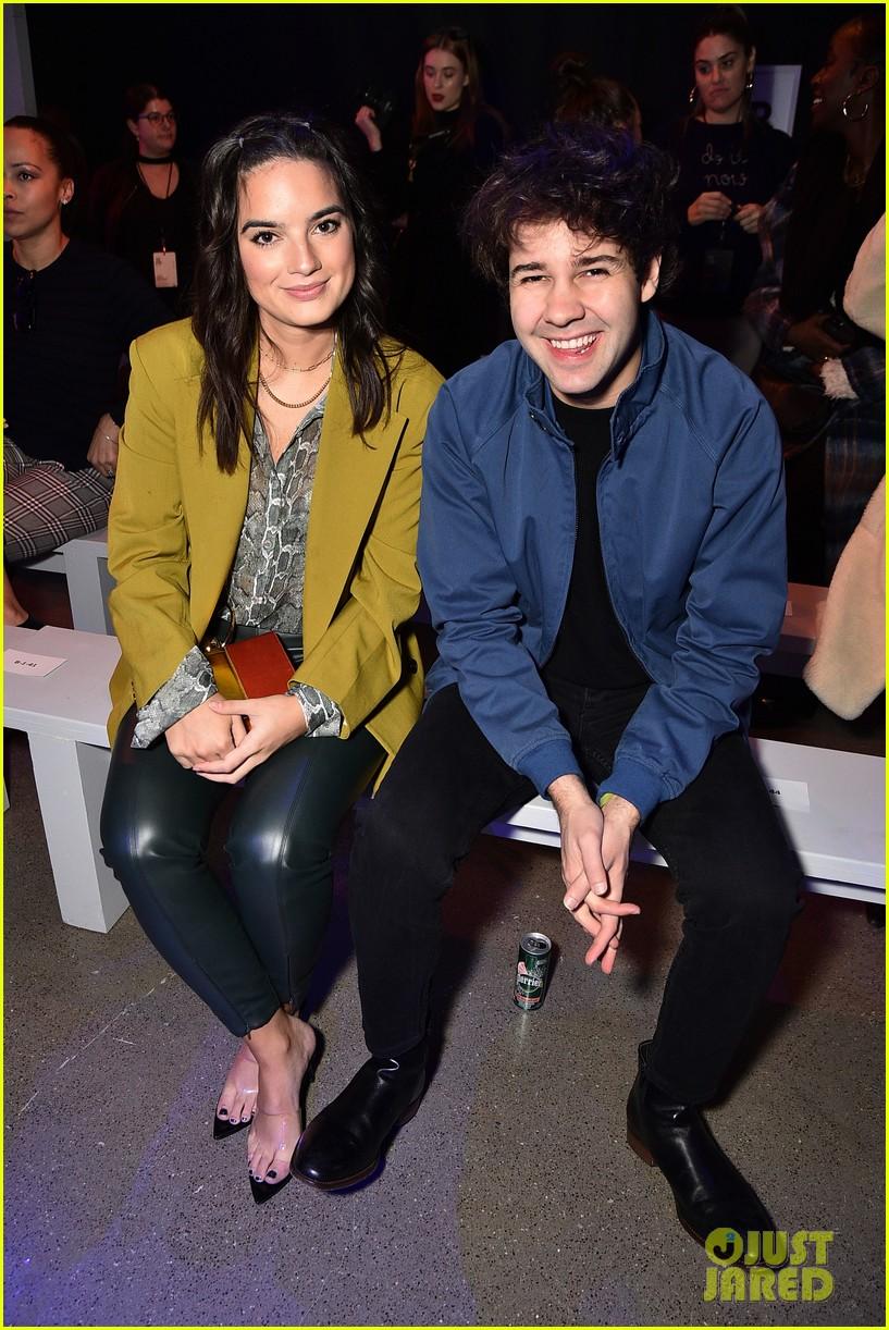 david dobrik rumored girlfriend natalie mariduena attend new york fashion week 03