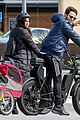 sasha farber emma slater get some exercise with bike ride during health crisis 01