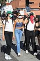 cole sprouse kaia gerber black lives matter protest 01