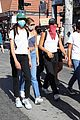 cole sprouse kaia gerber black lives matter protest 25
