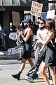 cole sprouse kaia gerber black lives matter protest 45