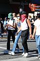 cole sprouse kaia gerber black lives matter protest 53