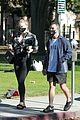 pregnant sophie turner at park with joe jonas family 09