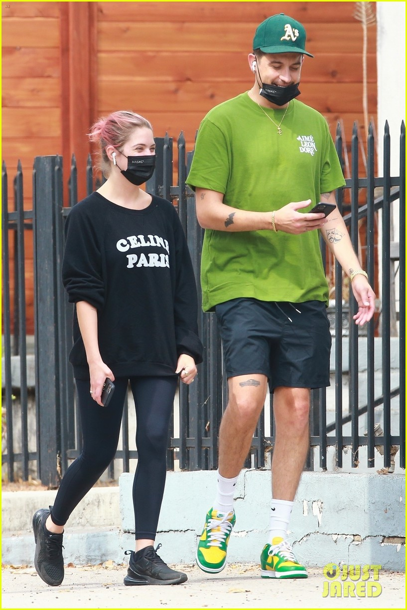ashley benson g eazy out together 03